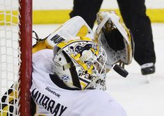 Rangers vs. Penguins - 03/31/2017 - Pittsburgh Penguins - Photos  Matt Murray #30 of the Pittsburgh Penguins makes the second period save against the New York Rangers