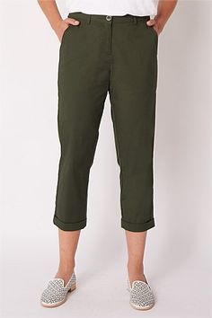 Shop Women's Pants   Blue Illusion Twill Pants, Cotton Pants, Skinny Jeans Style, Skinny Legs, Culotte Pants, Women's Pants, Stretch Pants, Slim Legs, Straight Leg Pants