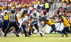 BYU football loses another heartbreaker, falls to West Virginia - The Daily Universe Byu Football, College Football, Football Helmets, Byu Sports, Fedex Field, West Virginia, Universe, Lost, Fall