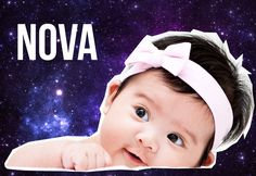 18 Space-Themed Baby Names That Are Out Of This World Cute - Don't want babies but for my future pets :P Celestial Baby Names, Meaningful Names, Space Theme, First Baby, Baby Baby, Out Of This World, Mini Me, Dog Names, New Parents