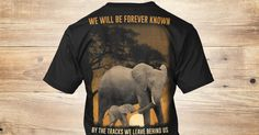 "**Shirt Not Sold in Stores**   This custom, Limited Edition design is screen printed on the highest quality, softest materials. You and your elephant loving friends and strangers alike will LOVE this shirt!   Click the green ""Buy it now"" arrow to order! Buy 2+ to save on shipping"