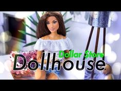 Our wood-based barbie dolls residential home selection possesses a choice of different styles and sizes, our wood barbie dolls holds are beautifully detailed with illustrations in and out. Barbie Dolls Diy, Barbie Doll House, Barbie Clothes, Barbie Stuff, Barbie Dress, Doll Stuff, Dollar Store Hacks, Dollar Store Crafts, Dollar Stores