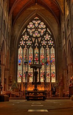 Ripon Cathedral | Flickr - Photo Sharing! the east window -- amazing photo by Andrew