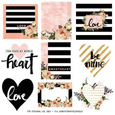 Free Printable Planner Stickers for Love Month – Jennifer Ramirez Baulch – Scrapbooking To Do Planner, Free Planner, Happy Planner, Passion Planner, Planner Ideas, Journal Stickers, Scrapbook Stickers, Journal Cards, Craft Stickers