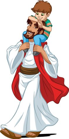 Check out the deal on Jesus In Robe - Piggy Back Ride at Creative for Kids