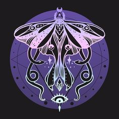 Shop Luna Moth & Snakes Illustration: Pastel Goth Soft Grunge Colors luna moth t-shirts designed by cellsdividing as well as other luna moth merchandise at TeePublic. Witchy Wallpaper, Goth Wallpaper, Trendy Wallpaper, Canvas Art Prints, Framed Art Prints, Poster Prints, Soft Grunge, Pastel Goth Background, Moth Drawing