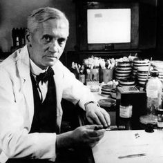 Sir Alexander Fleming (1905-1978), discoverer of penicillin. (Oxford DNB biography podcast)  #history #science (Image: Wikimedia)