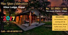 New Year night Celebration party at Kikar Lodge Ropar Call-08130781111