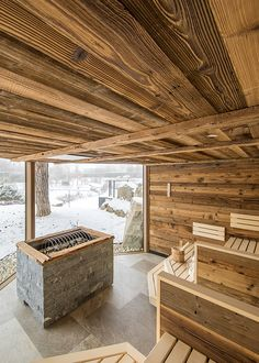Sauna House, Sauna Room, Saunas, Indoor Sauna, Easy Woodworking Ideas, Sauna Design, Outdoor Spa, Cottage Homes, Hotel Spa