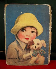 vintage 1930's book cover