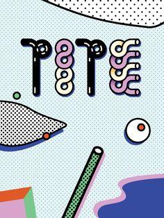 YWFT Pipe by Tanawat Sakdawisarak, via Behance