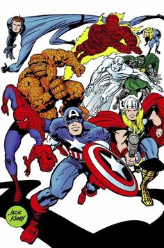 westcoastavengers:  Marvel Super-Heroes by Jack Kirby