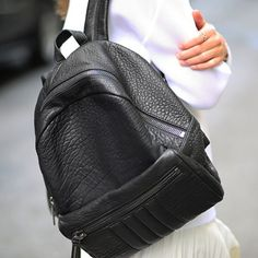 Womens Rally Backpack (Snow Crispat Black) ALLSAINTS.com