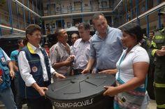 Gobernación y Ungrd entregaron ayudas a municipios declarados en Calamidad Pública