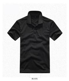 Black Style # 54 - Original Label By Hanes Hanes Mens 52 Oz 50//50 EcoSmart Jersey Knit Polo L -