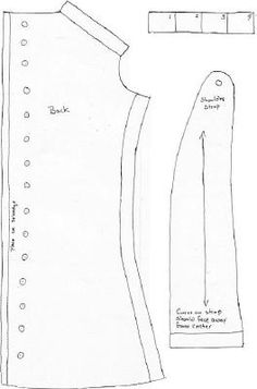 1820-1840 Corset Reproduction (All pieces of the pattern are shown on the web page, along with instructions on how she made her corset)