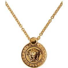 Versace for Men Collection Versace Necklace, Versace Jewelry, Men Necklace, Luxury Jewelry, Cute Jewelry, Gold Jewelry, Jewelery, Jewelry Accessories, Jewelry Trends