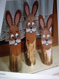 Hana, Wood Crafts, Decoupage, Spring, Wood, Craft, Easter Activities, Dekoration, Wood Turning