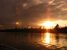Temagami Sunset Sunsets, Beautiful Things, Places To Go, Sunrise, Landscapes, Celestial, Water, People, Pictures