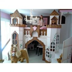 Modified Buckingham Palace Bunk Bed with slide – bunk bed or loft bed with playhouse under is creative inspiration for us. Get more photo about home decor related with by looking at photos gallery at the bottom of this page. We are want to say thanks if you like to share this post to another