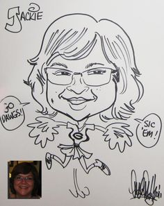 party caricature body gags - Google Search