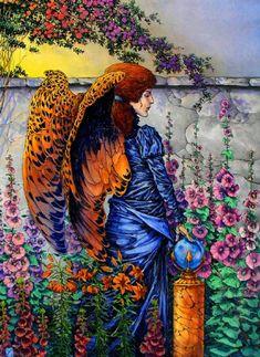 michael zulli art | Aura Garden by Michael Zulli