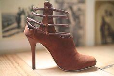 "Camilla Skovgaard ""Rust"" multi-strap bootie. So sexy! sizes 36, 36.5, and 37.5"