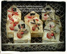 Bella´s Bastelecke: #stampinup....14. Dezember 2013....Goodies mit Envelope Punch Board...