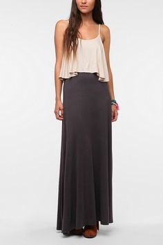 "Staring at Stars Knit Layered Maxi Dress -- ""t's comfy, flattering and super cute!"""