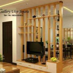 Partisi Penyekat Ruangan Minimalis Model Pilar Modern - Gallery Ukir | Gallery Ukir