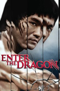 Bruce Lee- Enter the Dragon movie poster.