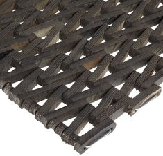 Durable Corporation 108 Recylcled Tire-Link Anti-Fatigue Mat, for Wet Areas, Herringbone Weave, Black