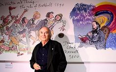 Quentin Blake, the children's illustrator best known for bringing to life the characters of Roald Dahl, is in line for a literary award in honour of the author he worked with for many years.