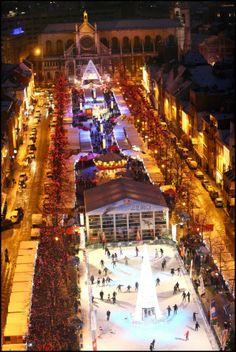 Christmas Market, Place Sainte Catherine