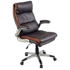 Ergonomic PU Leather High Back Executive Computer Desk Task Office Chair - Furniture