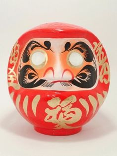 An authentic Daruma Doll from Japan.
