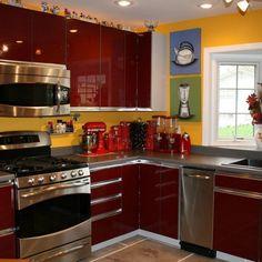 Mustard Yellow Kitchen Decor