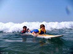 Look at this camper body-boarding through the wave!