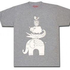 ZOO t-paita harmaa