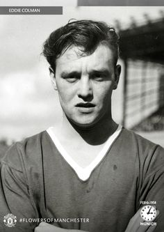 Salford-born Eddie Colman, also known as 'Snakehips' due to his tricky wing skills, was well loved at Old Trafford during his time playing for @manutd.