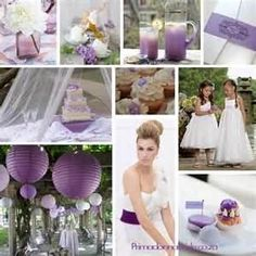 Some pretty purple wedding ideas