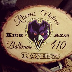 Ravens Nation Baltimore Ravens Football by TheArtsofTimeandLife
