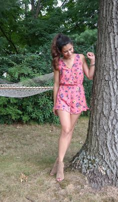 Inspired by Summer Flavors pink romper