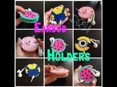 DIY Perler Bead Earbud Holders//Adorable Watermelon, Cake, Minion Holders!