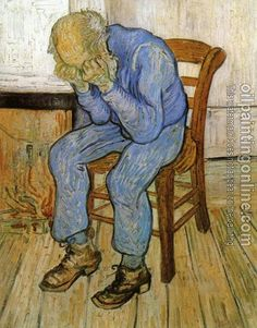 This is a Van Gogh painting that carries so much emotion, I've sketched it several times and love it.