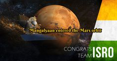 Greeting to Mangalyaan Team, Proud to be an Indian