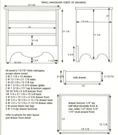 Very litttle Dresser #1: Plans, history and glue-up - by toolferone @ LumberJocks.com ~ woodworking community