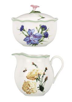 LENOX Floral Meadow Sugar & Creamer