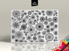 Page de coloriage Expert Mandala & Motif floral par NatWorkshop