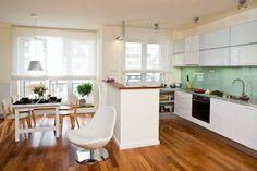 Zdjęcie numer 1 w galerii - Aranżacja jednolita: kuchnia z jadalnią